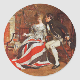 The First Union Jack Classic Round Sticker