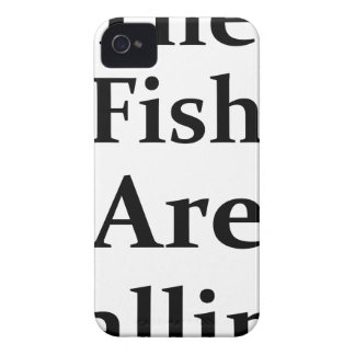 The Fish Are Calling iPhone 4 Case-Mate Cases