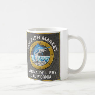 The Fish Market x Two - Marina del Rey California Coffee Mug