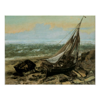 The Fishing Boat; 1865 Print