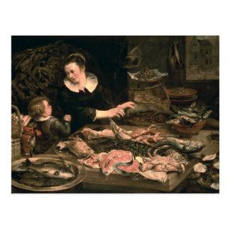 The Fishmonger Postcard