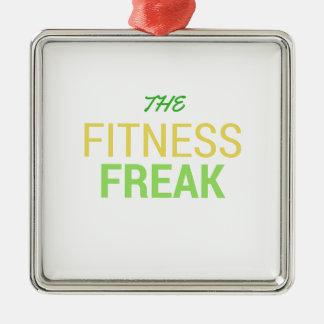 The Fitness Freak-Lemon Metal Ornament