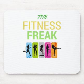 The Fitness Freak-Lemon Mouse Pad