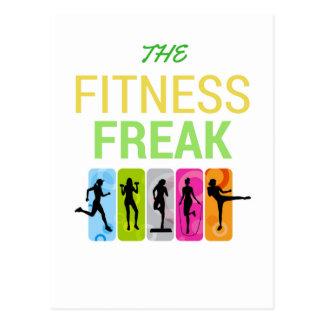 The Fitness Freak-Lemon Postcard