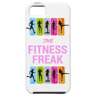 The Fitness Freak-Rose Tough iPhone 5 Case