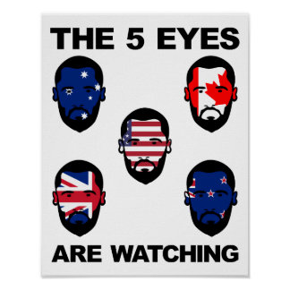 "The ""Five Eyes"" Poster"