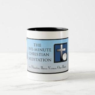 The Five-Minute Christian Meditation Mug