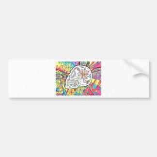 The Five Senses Bumper Sticker