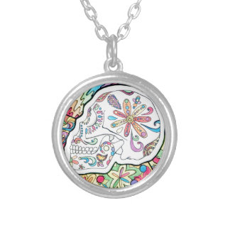 The Five Senses Silver Plated Necklace