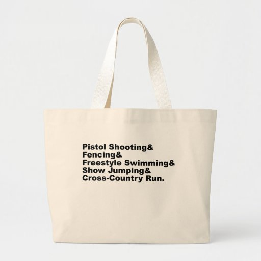 The Five Stages of a Pentathlon   Shooting Fencing Bag