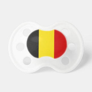 The Flag of Belgium Baby Pacifier