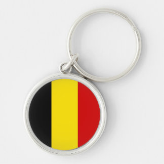The Flag of Belgium Keychain