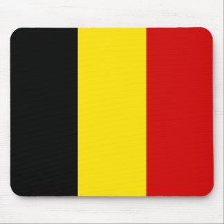 The Flag of Belgium Mousepad