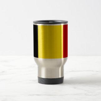 The Flag of Belgium Stainless Steel Travel Mug
