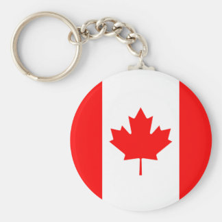The Flag of Canada Canadian Nation Maple Leaf Flag Key Ring
