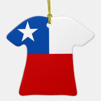 The Flag of Chile Christmas Ornament