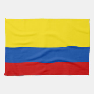 The Flag of Colombia Tea Towel