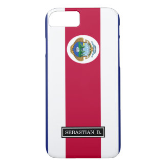The Flag of Costa Rican iPhone 7 Case