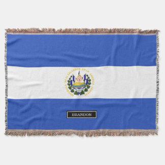 The flag of El Salvador
