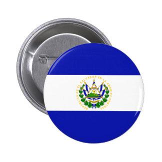 The Flag of El Salvador Pins