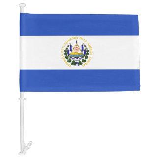 The flag of El Salvador Car Flag
