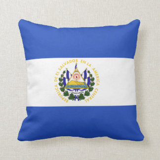 The Flag of El Salvador Cushion