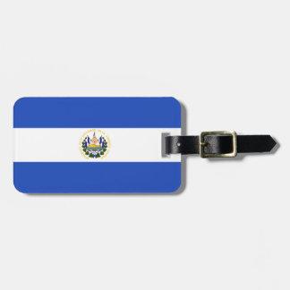 The flag of El Salvador Luggage Tag