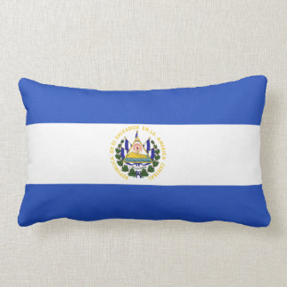 The Flag of El Salvador Lumbar Cushion
