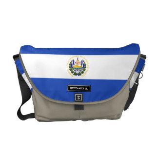 The flag of El Salvador Messenger Bag
