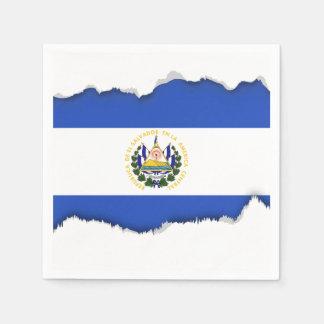The flag of El Salvador Paper Napkins