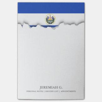 The flag of El Salvador Post-it® Notes