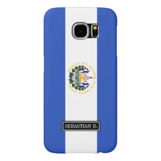 The flag of El Salvador Samsung Galaxy S6 Cases