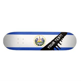 The flag of El Salvador Skateboards