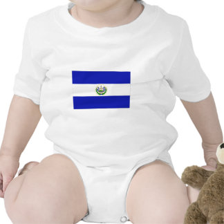 The Flag of El Salvador. Baby Creeper