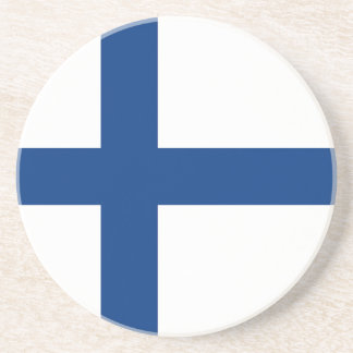 The Flag of Finland - Siniristilippu Coaster