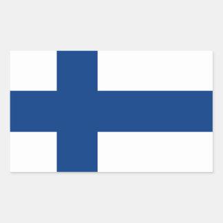 The Flag of Finland - Siniristilippu Rectangular Sticker