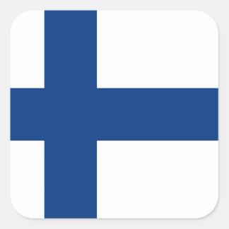 The Flag of Finland - Siniristilippu Square Sticker