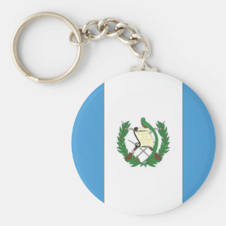 The Flag of Guatemala Key Ring
