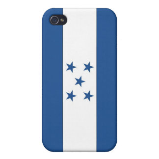 The Flag of Honduras iPhone 4 Cases
