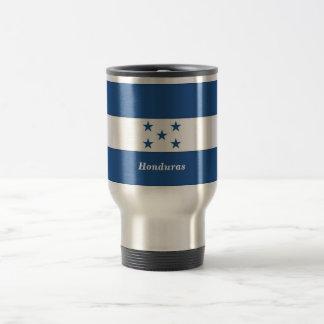 The Flag of Honduras Stainless Steel Travel Mug