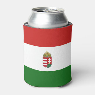 The flag of Hungary Can Cooler