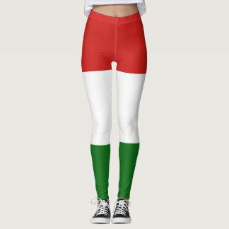 The flag of Hungary Leggings