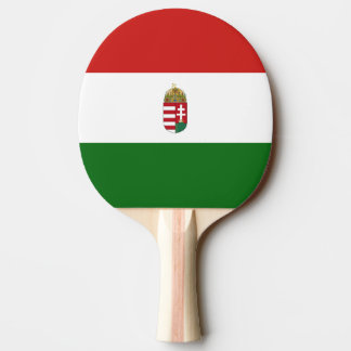 The flag of Hungary Ping Pong Paddle