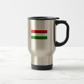 The Flag of Hungary Travel Mug
