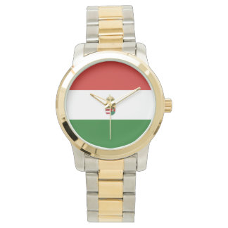 The flag of Hungary Watch