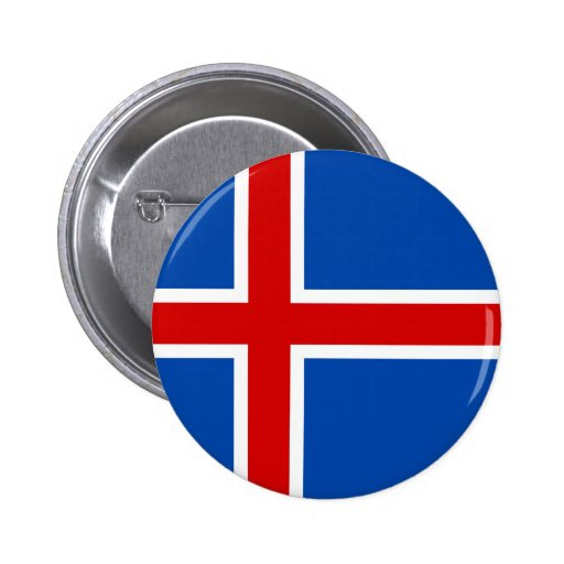 The Flag of Iceland Pins