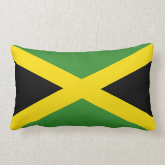 The Flag of Jamaica Lumbar Cushion