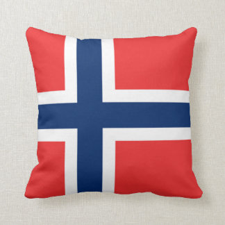 The Flag of Norway - Scandinavia Pillows