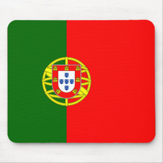 The Flag of Portugal (Bandeira de Portugal) Mouse Pad