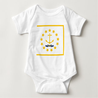 The flag of Rhode Island. Baby Bodysuit